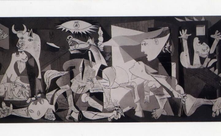 guernica una delle sue opere pi famose (archivio l unione sarda)
