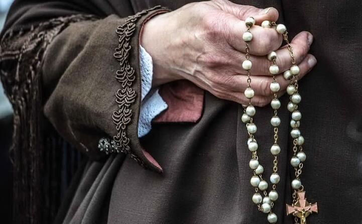 alla processione della madonna di tratalias foto di roberto melis da iglesias