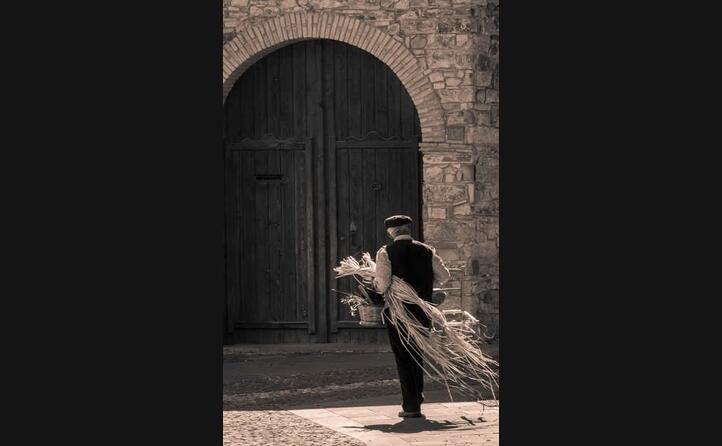 cartolina in bianco e nero da sanluri (foto alessiopeddis81)