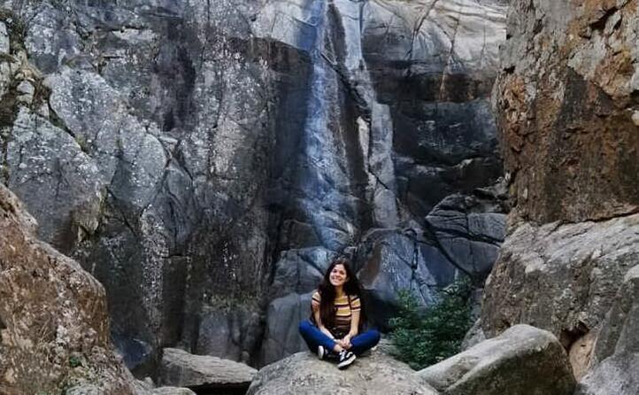 davanti alla cascata di sa spendula a villacidro ( medinolasss)