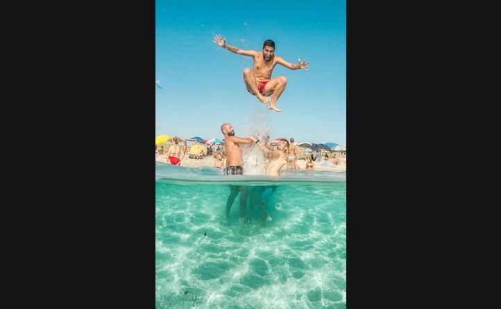 l estate in sardegna non finisce mai ecco come si passa il tempo nella spiaggia di maimoni (foto paolopiras_)