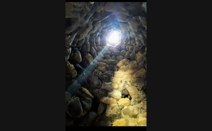 la luce (nuraghe di barumini) foto di valentina pintus cagliari