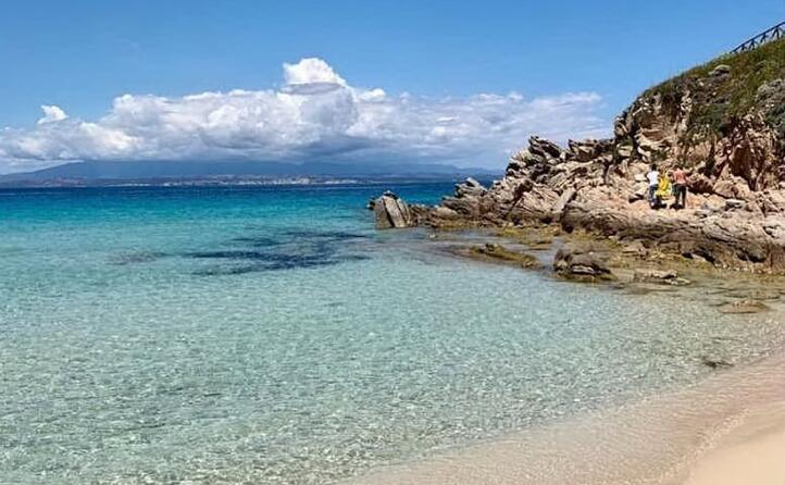 lo spettacolo della spiaggia di rena bianca a santa tera gallura ( martino_msound)