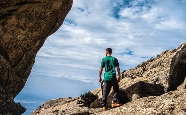 sulla vetta del monte limbara (foto antoniodettori93)