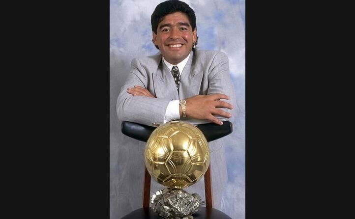 gli auguri di france football con il pallone d oro ad honorem