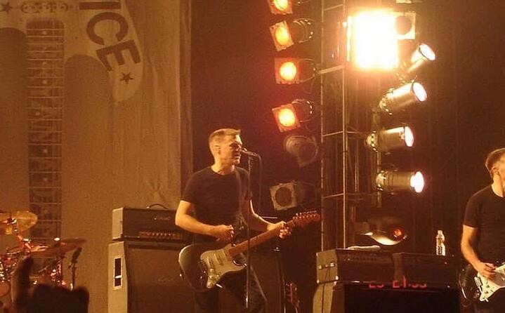 sul palco