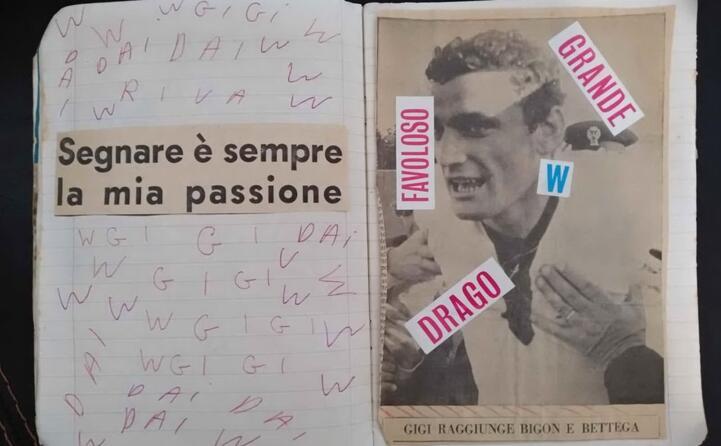 il quaderno di roberto saiu di iglesias (foto concessa)