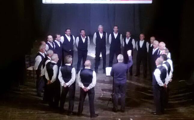 il coro palmarese (foto giacomo pala)
