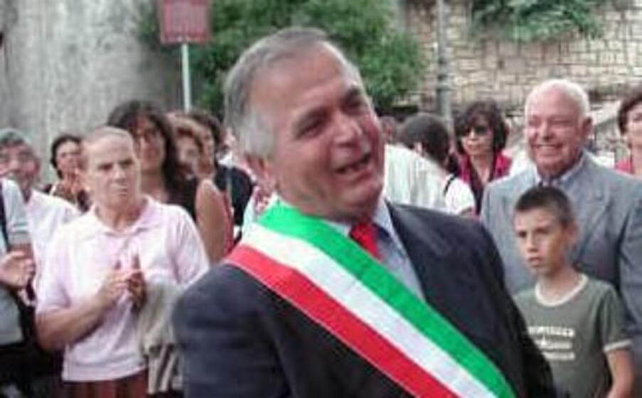 l ex sindaco di genoni ignazio soddu (foto antonio pintori)
