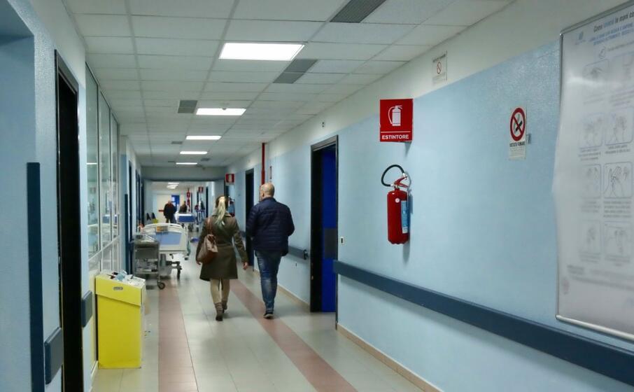 l interno dell ospedale sirai (archivio l unione sarda murru)