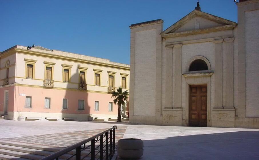 la chiesa di santa barbara (archivio l unione sarda p p )