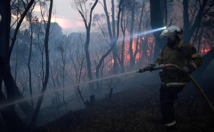 preoccupazione da parte dei pompieri siamo in un territorio inesplorato