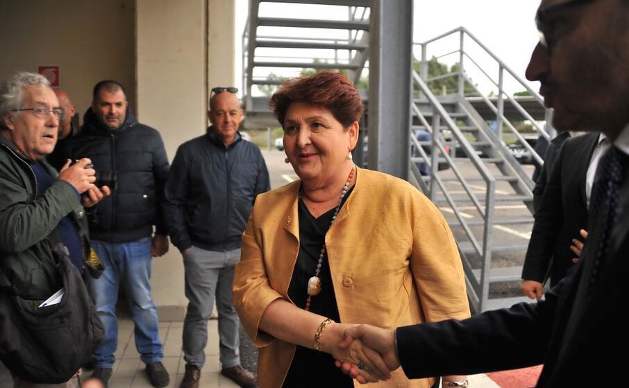 il ministro bellanova in sardegna (l unione sarda chergia)
