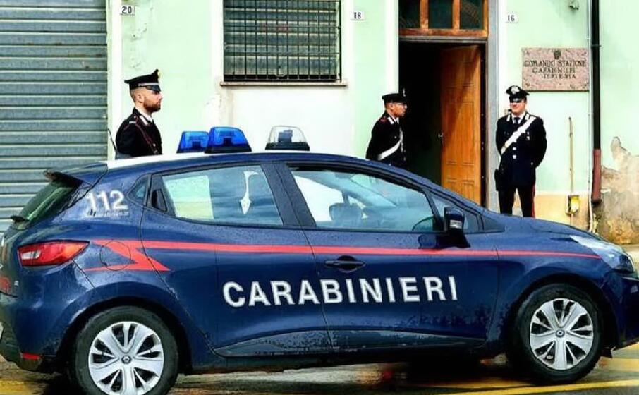 la caserma di tertenia (foto carabinieri)