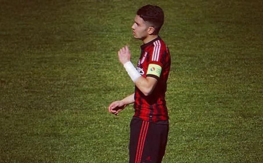 michel spinelli 21 anni difensore da luned vestir la maglia del lanusei (foto dal profilo facebook dell atleta)