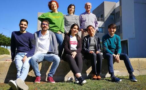 I ricercatori (foto @UniCa)