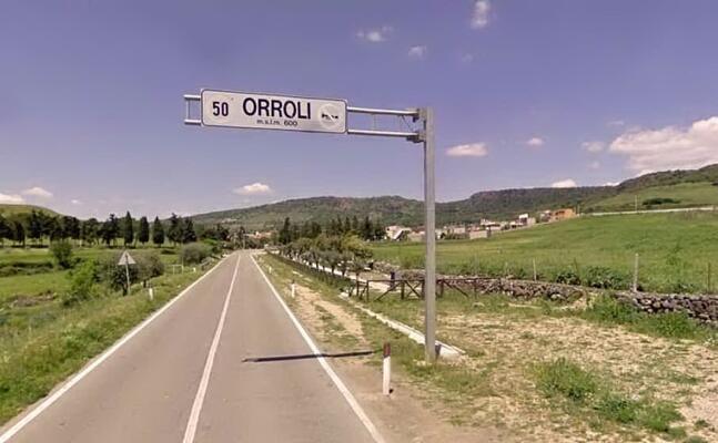 l ingresso del paese (archivio l unione sarda)
