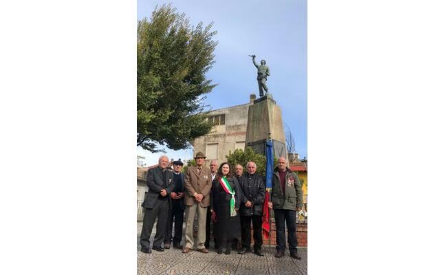 la cerimonia per ricordare i burceresi caduti in guerra (foto serreli)