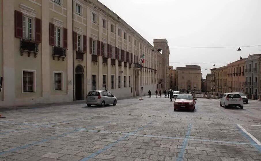 palazzo regio (archivio l unione sarda)
