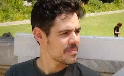 Andrea Piras (foto da frame video)