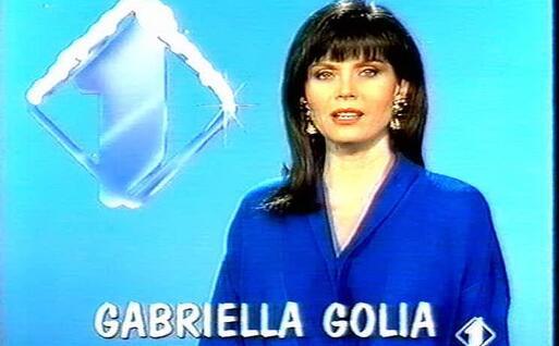Gabriella Golia (frame da un annuncio in tv)