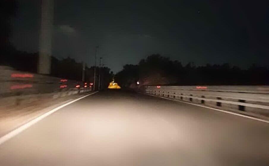 il viadotto al buio (l unione sarda sanna)