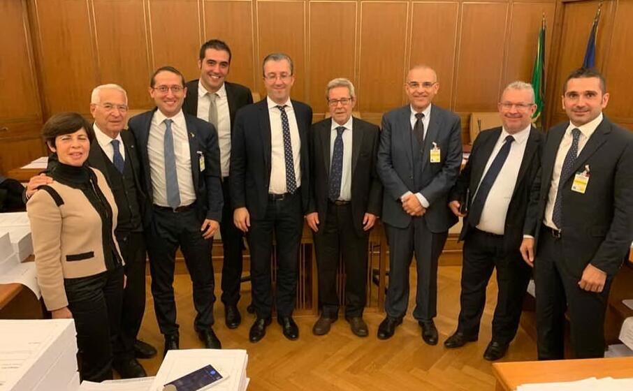 l incontro a roma (foto ufficio stampa)
