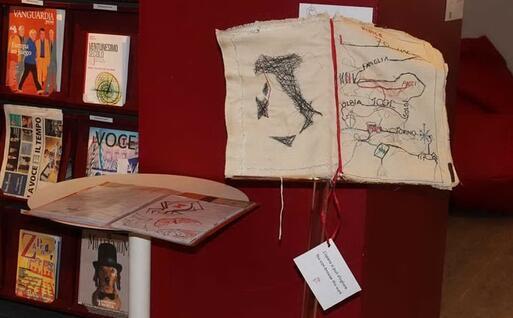 L'opera che ha vinto il primo premio (Foto Associazione Gramsci)