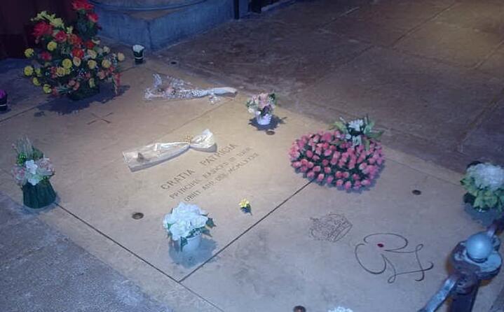 la tomba della principessa nella cattedrale dell immacolata concezione (foto wikipedia)