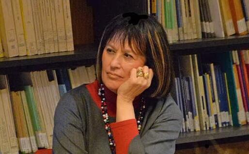 Neria De Giovanni, studiosa di Grazia Deledda (foto Voches 'e Ammentos de Garteddi)