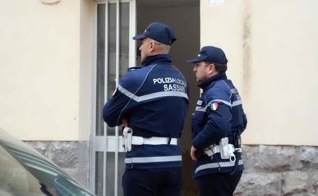 polizia locale (archivio l unione sarda calvi)