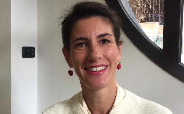 alice capitanio direttrice artistica del lei festival (fermo immagine da video)