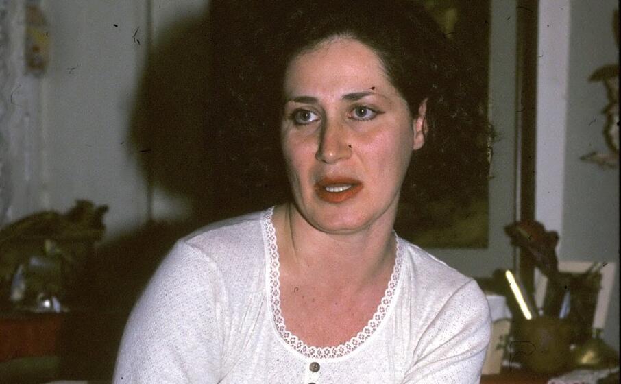 donatella colasanti sopravvissuta alla furia degli aguzzini e poi morta nel 2005 (archivio l unione sarda)