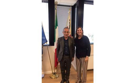Enzo Cugusi e Alessandra Zedda (foto Enzo Cugusi)