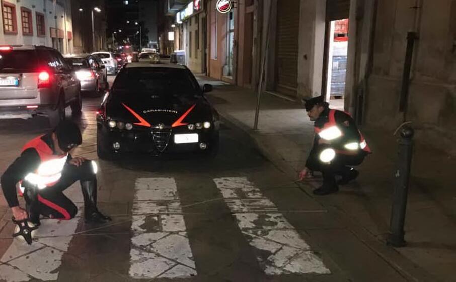 i rilievi (foto carabinieri)