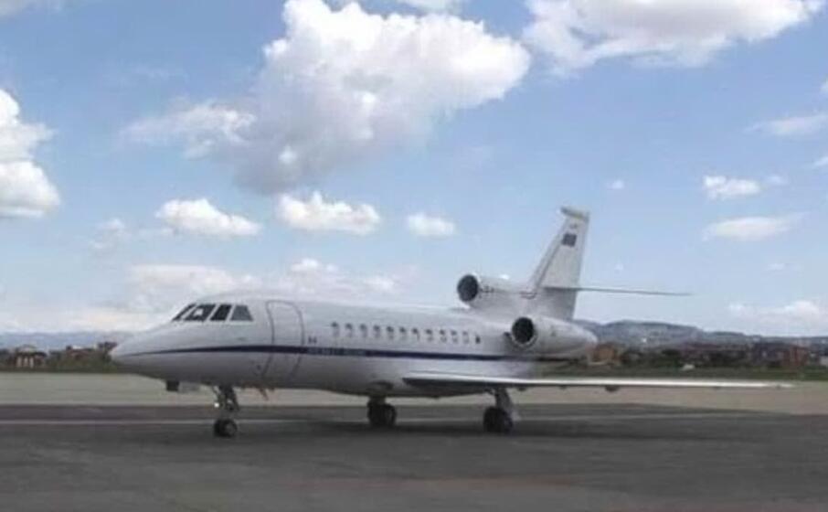 il falcon 900 (foto aeronautica militare)