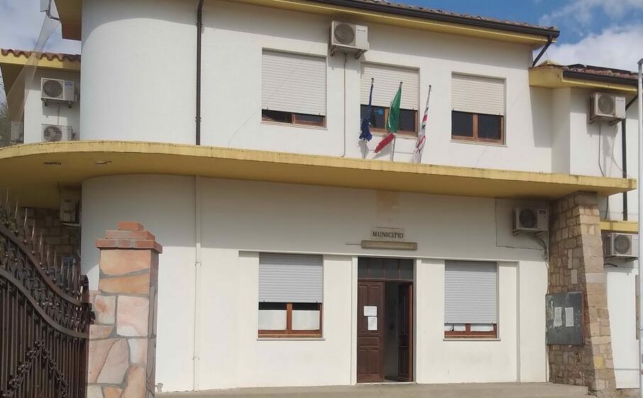 il municipio di musei (l unione sarda foto farris)