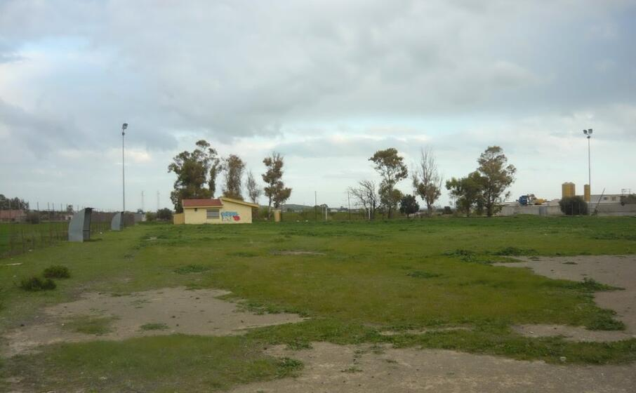 il vecchio campo di calcio di settimo (foto andrea serreli)
