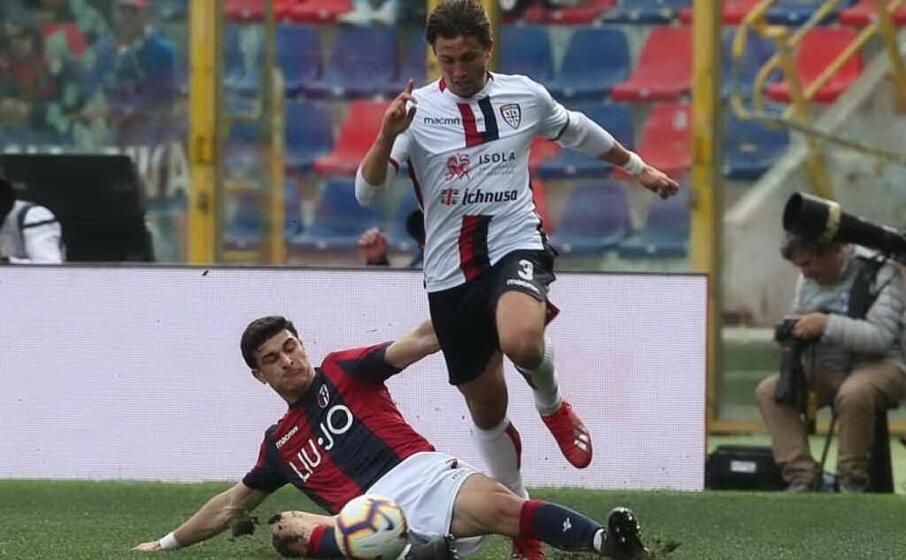 Cagliari, Luca Pellegrini ko in Under 21: problema alla caviglia