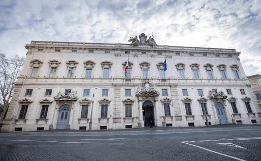 Corte Costituzionale (Archivio L'Unione Sarda)