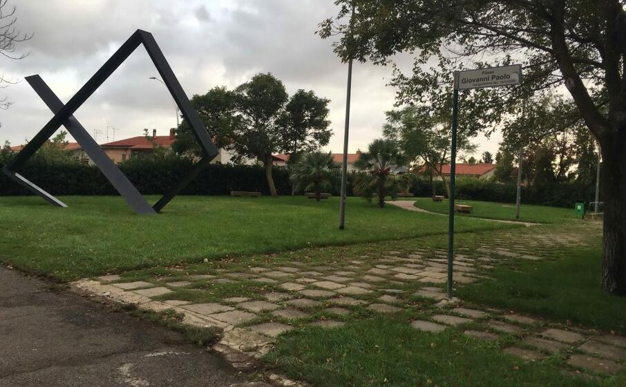 il parco giovanni paolo ii (foto scano)