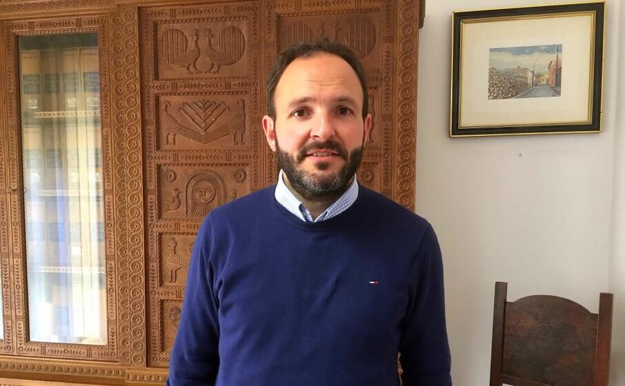 il sindaco di isili luca pilia (archivio l unione sarda)