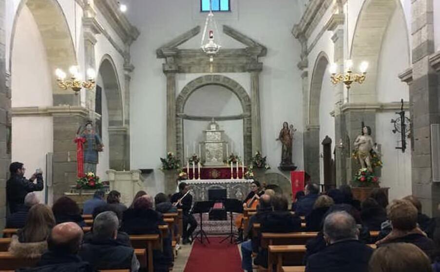 la parrocchia di pauli arbarei (foto antonio pintori)