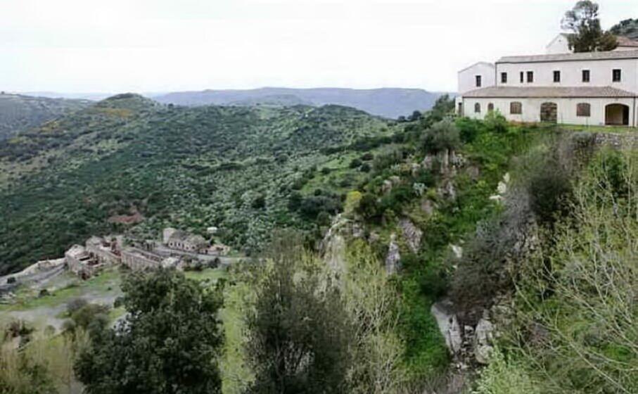 il sito minerario di su suergiu (archivio l unione sarda)