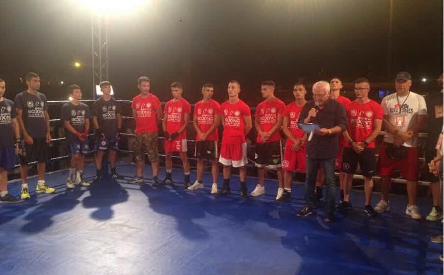 un match di boxe regionale (foto m pala)