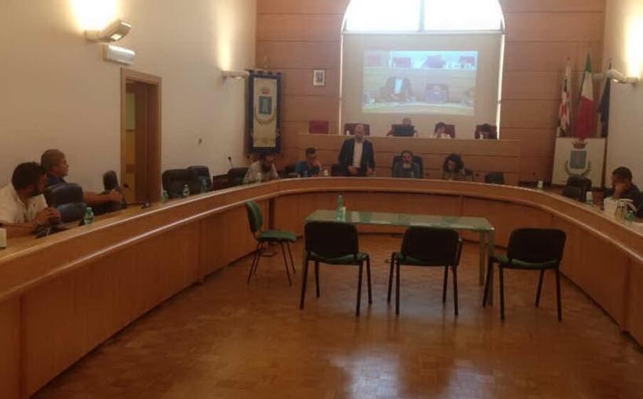 il consiglio comunale (foto m pala)