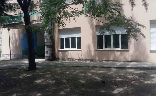 la scuola elementare di laconi (l unione sarda foto pintori)