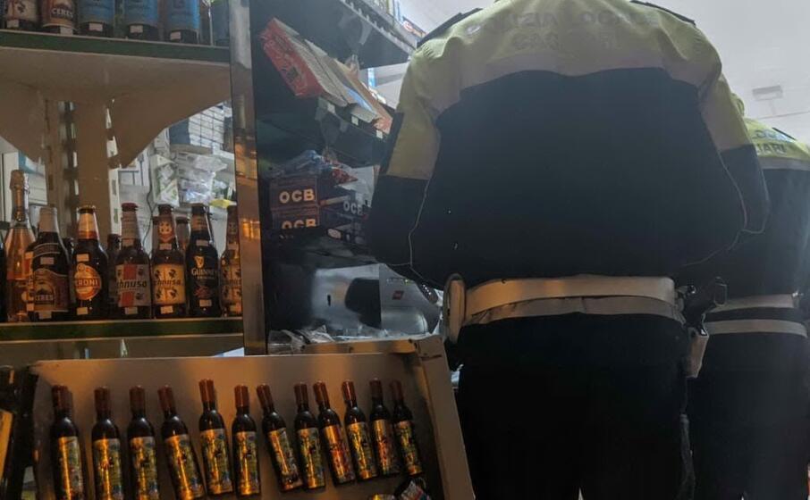 i controlli (foto polizia municipale di cagliari)