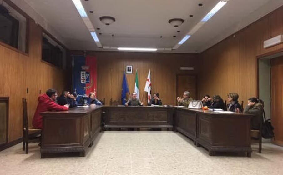 il consiglio comunale (foto a orbana)