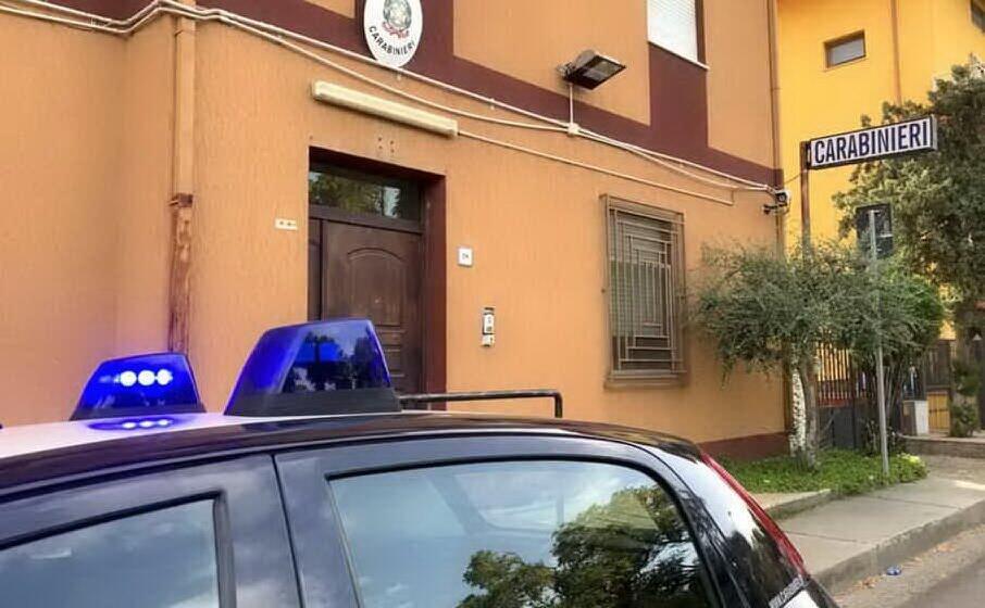 la caserma dei carabinieri di tortol (archivio l unione sarda)